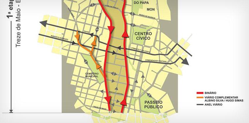 ATENÇÃO: mudanças no trânsito alteram acesso a Unilutus