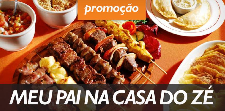 """Promoção """"Meu pai na Casa do Zé"""""""