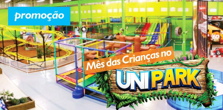 Promoção Mês das Crianças no Unipark