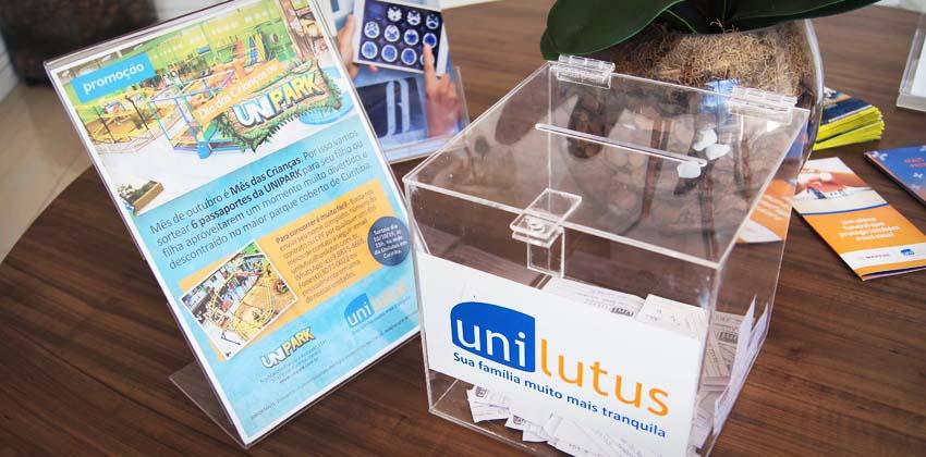Sorteio Promoção Mês das Crianças no Unipark