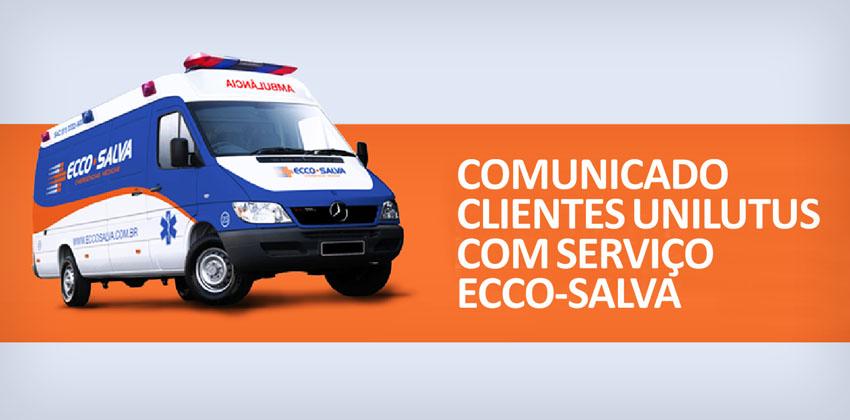 Comunicado serviço Ecco-Salva