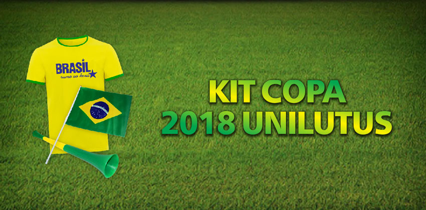 30 Kit´s Copa 2018 Unilutus. Um pode ser seu!