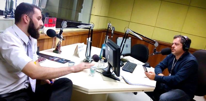 Entrevista Unilutus na Rádio Evangelizar