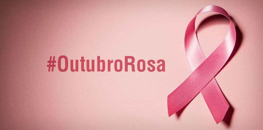 Outubro é o mês de prevenção ao câncer de mama