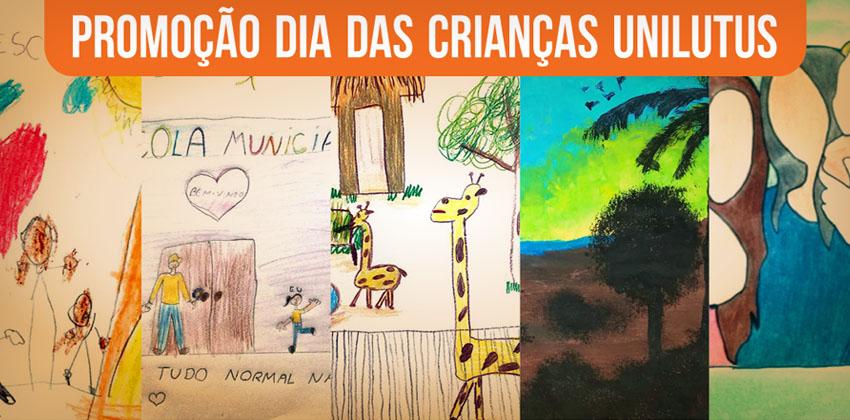 """Finalistas da promoção """"Desenho Premiado Unilutus"""""""